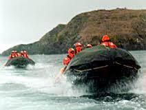 Travesía Marítima en Botes de Goma